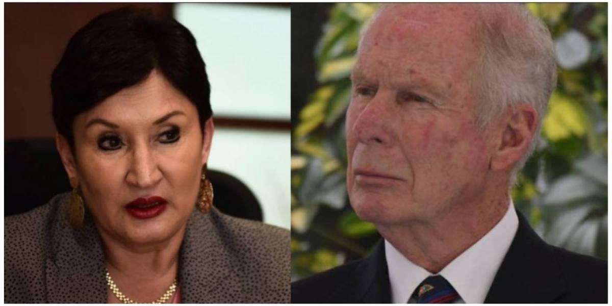 """Fiscal General sobre resolución de antejuicio contra Arzú: """"si la sala resuelve sin lugar, acudiremos a la CC"""""""