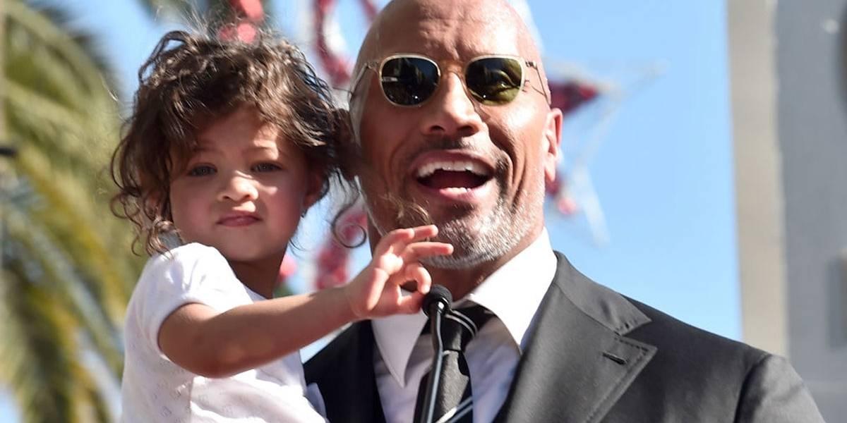 VÍDEO: The Rock incentiva filha pequena no mês da mulher: 'Girl Power!'