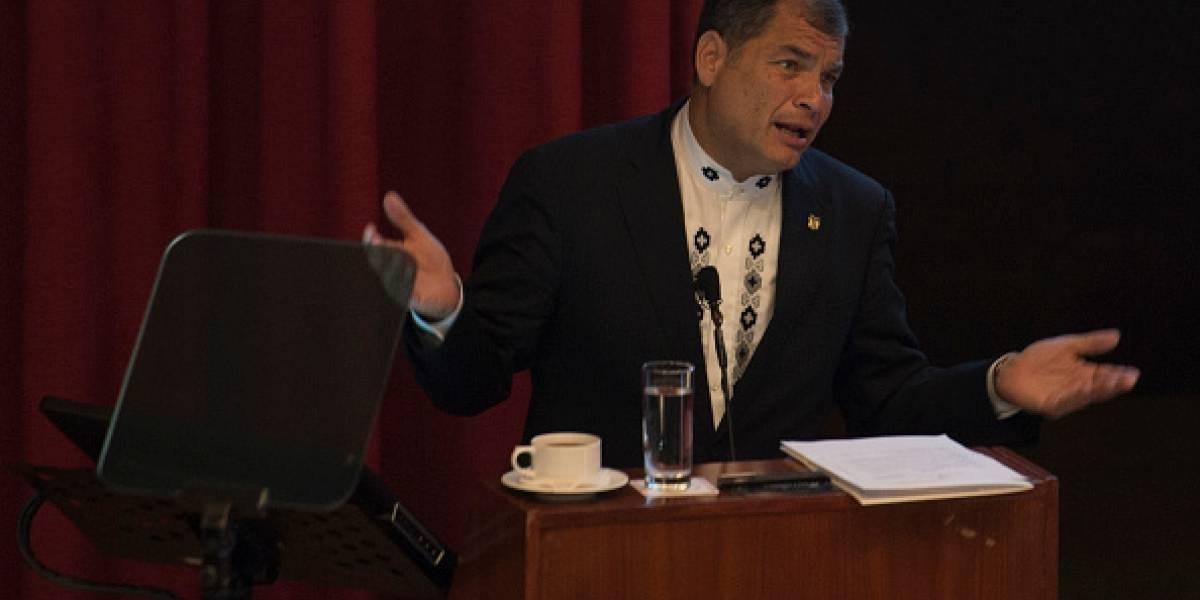 Rafael Correa se pronunció sobre destitución de José Serrano
