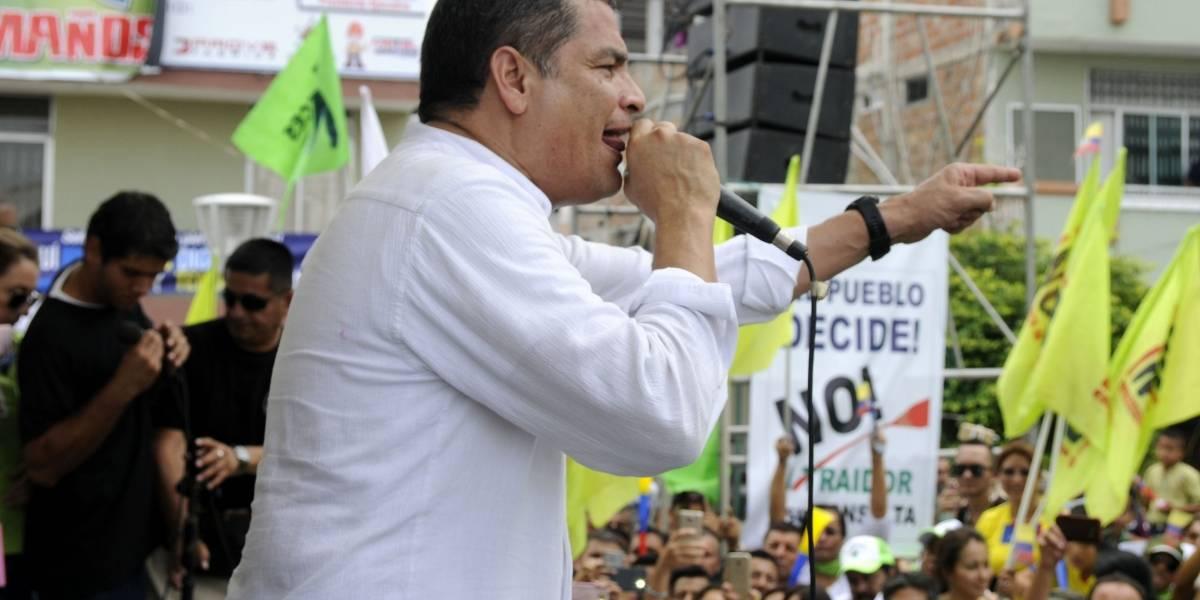 Rafael Correa en Twitter: Serrano es el operador de Moreno