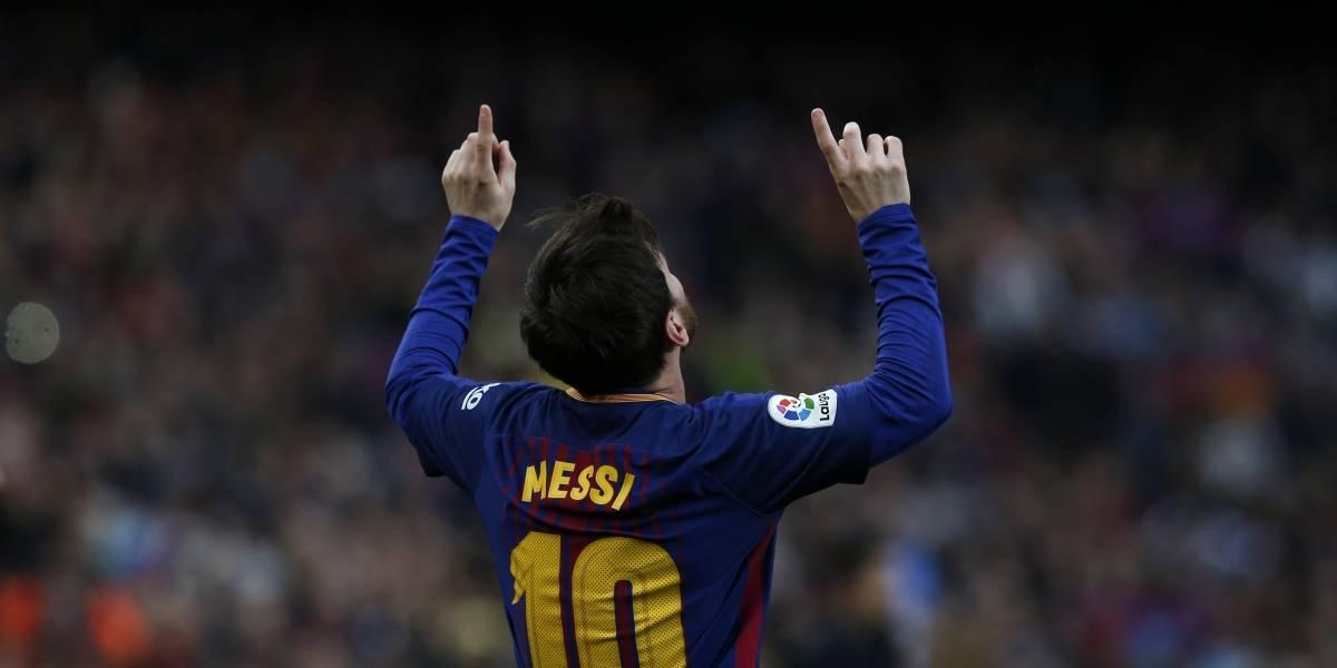Messi anuncia nacimiento de su tercer hijo