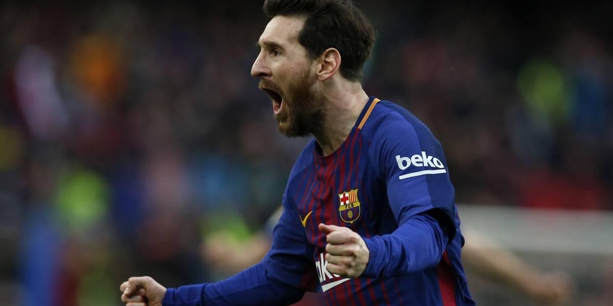 Messi se cae de la lista para Málaga por
