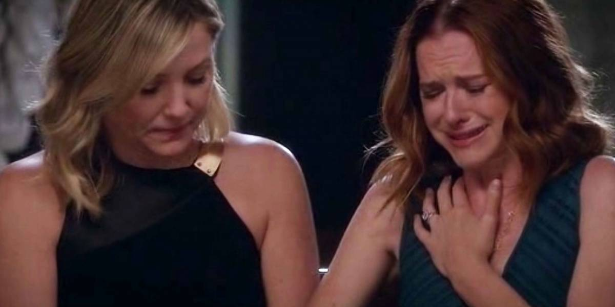 Arizona y April le dicen adios a Grey's Anatomy