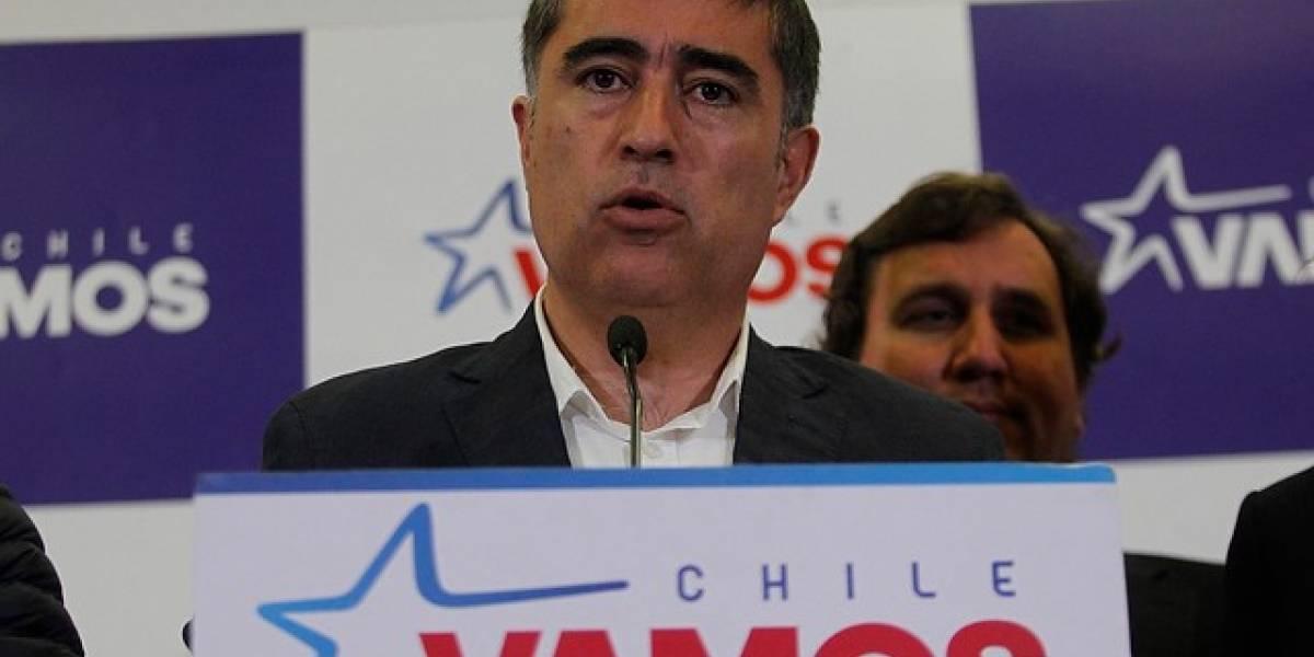 Diputado electo Mario Desbordes es el nuevo presidente de Renovación Nacional