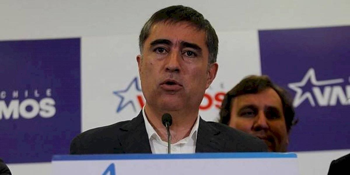 """Mario Desbordes de RN: """"60 % de la militancia votará por el rechazo"""""""