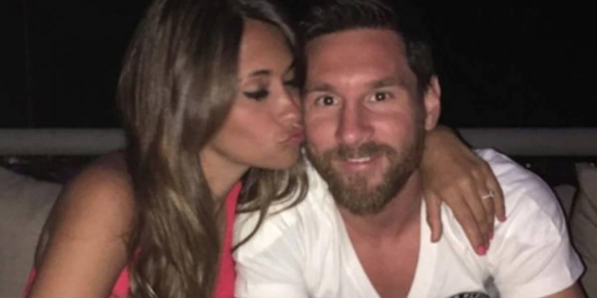 Nació Ciro, el tercer hijo de Leo Messi y Antonella Rocuzzo