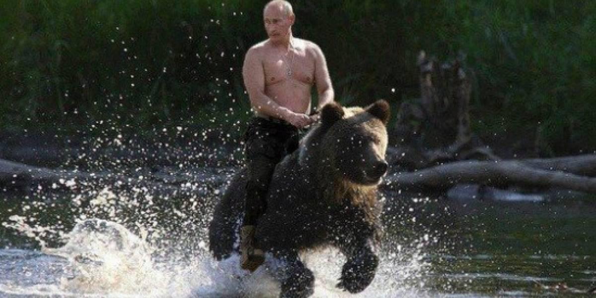 Fin del misterio: Putin confesó toda la verdad sobre su foto montando un oso