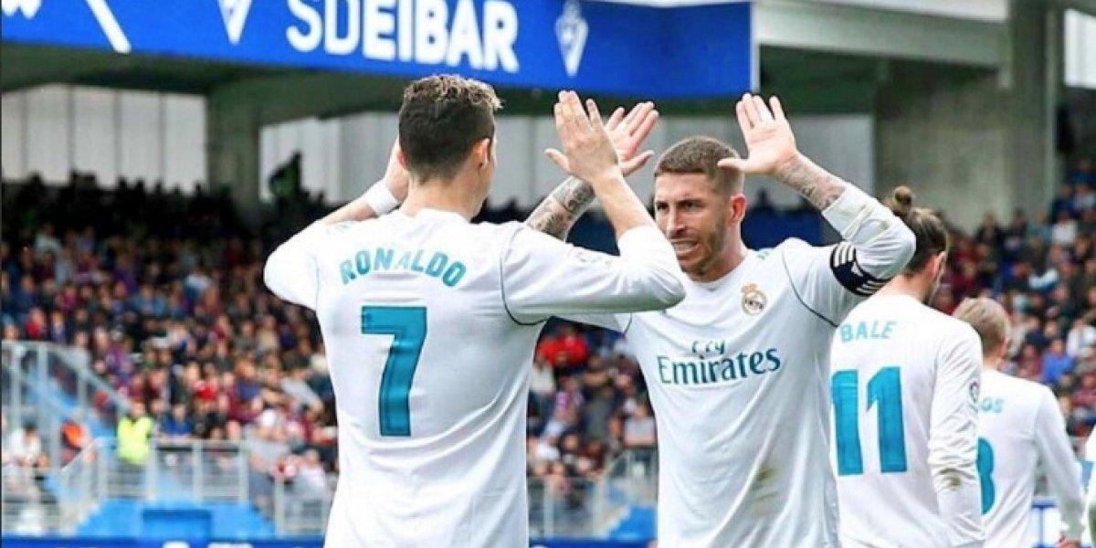 """Sergio Ramos fue al baño durante el partido porque """"se ha caga... un poco"""""""