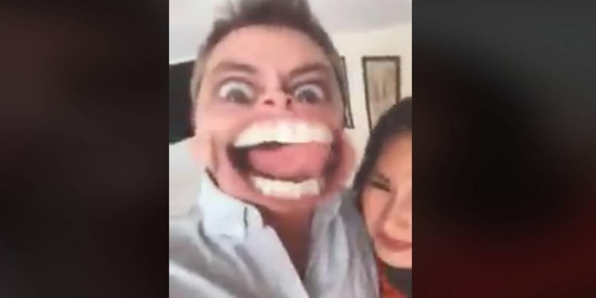 El divertido video de Pamela Díaz y José Miguel viñuela que se volvió viral