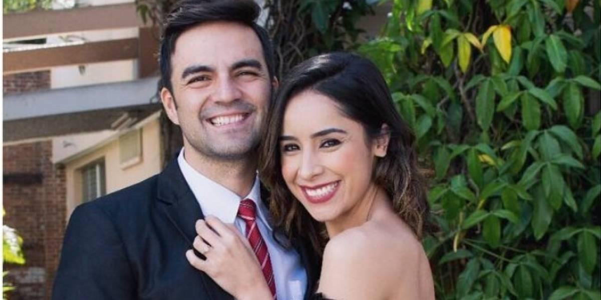 ¡El momento esperado al fin llegó! Pamela Paz y David Castro se casan por lo civil