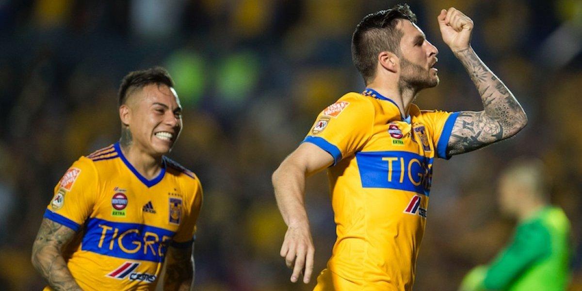 Gignac le otorga el triunfo a Tigres sobre Xolos