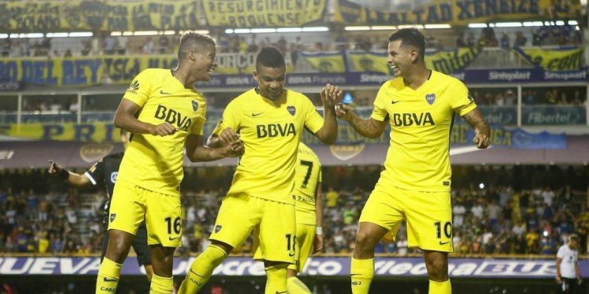 ¡Súperclásicos! Cardona hizo gol; Barrios y Fabra, figuras en el triunfo de Boca