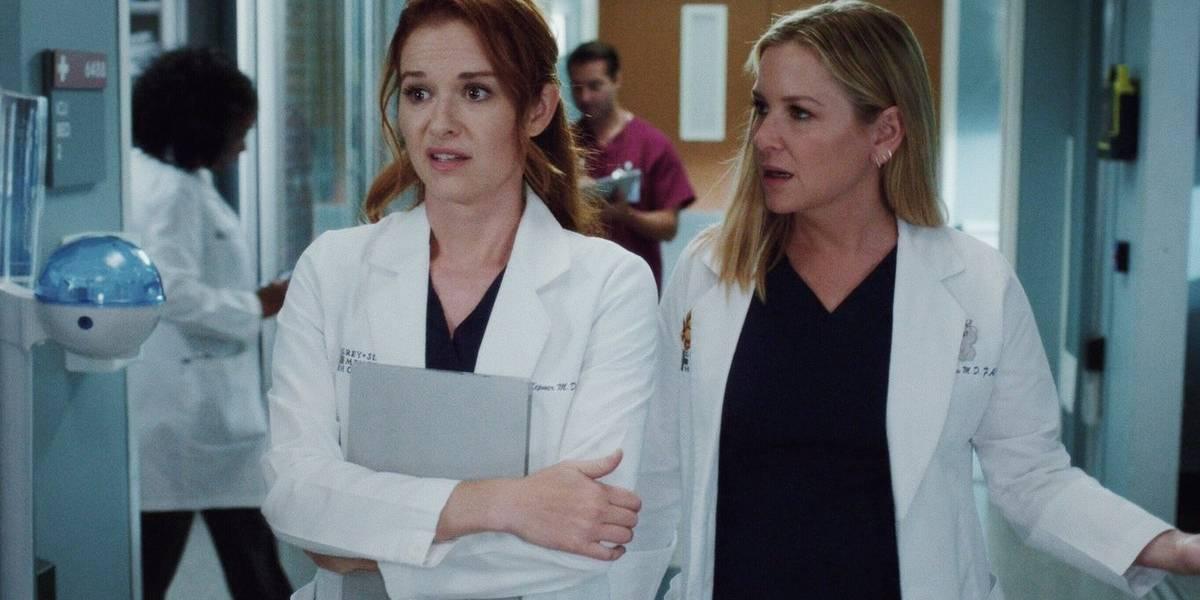 April e Arizona, de Grey's Anatomy, vão deixar a série