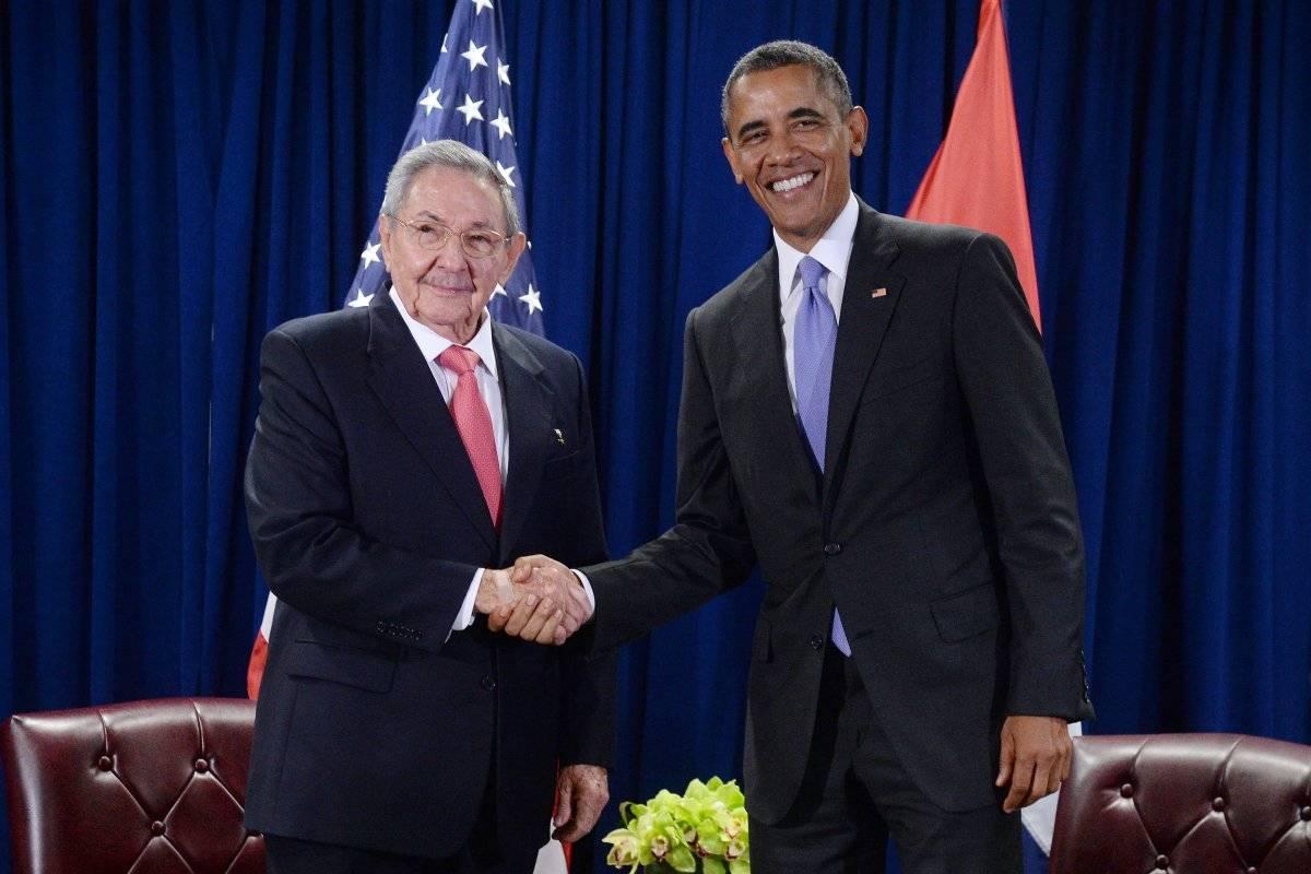 2015 fue el año en que los líderes de Estados Unidos y Cuba se reunieron por primera vez