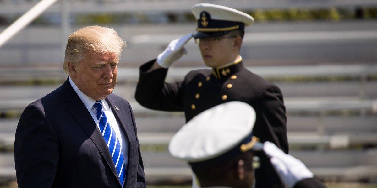 Preparan el desfile militar solicitado por Trump... pero sin tanques
