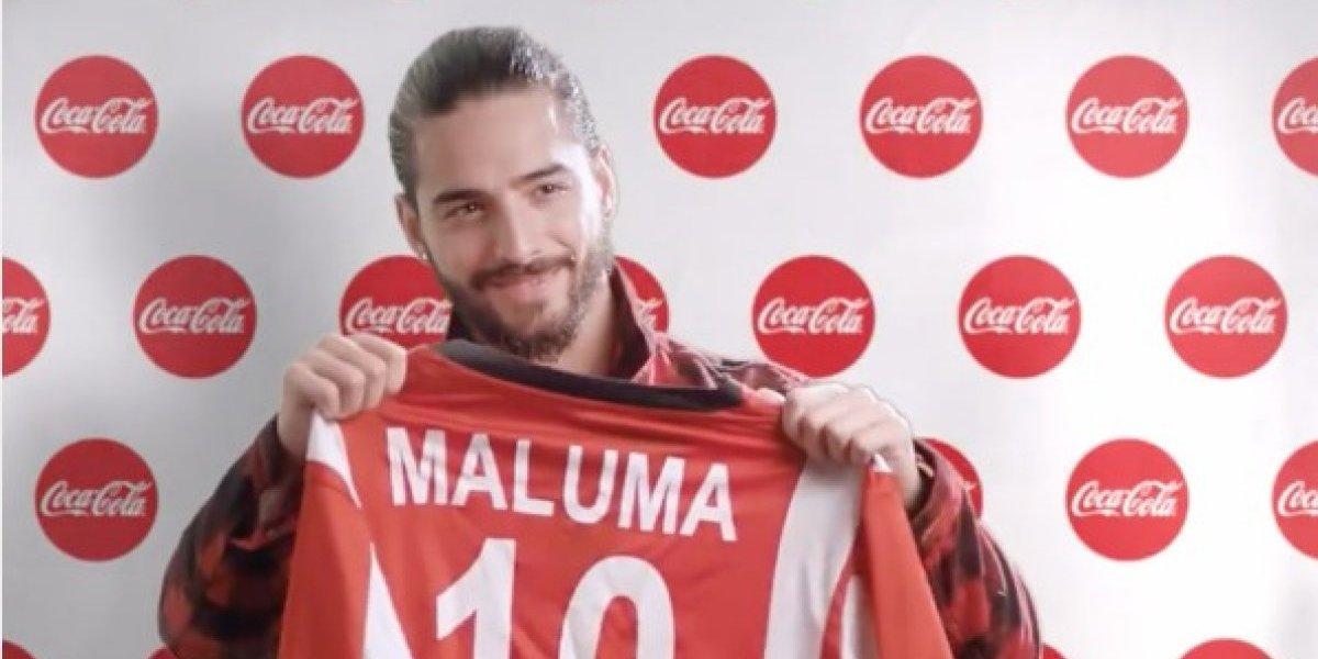 Oficializan que Maluma será la voz del himno latino para el Mundial de Rusia 2018
