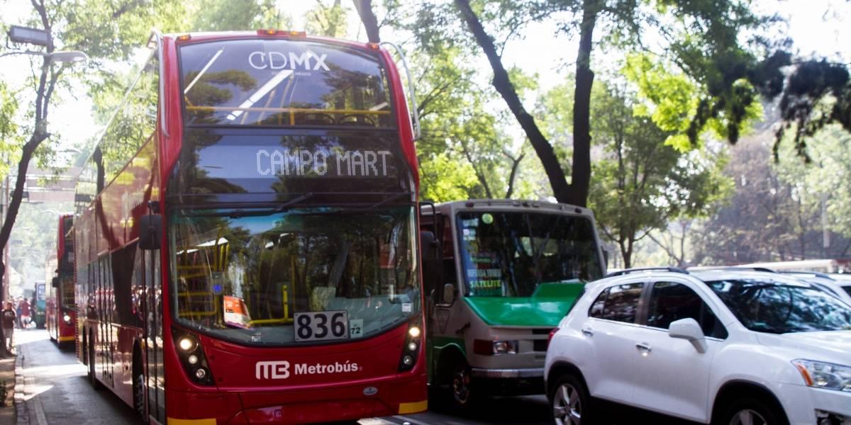 Esta es la multa que podrías pagar si invades el carril del Metrobús