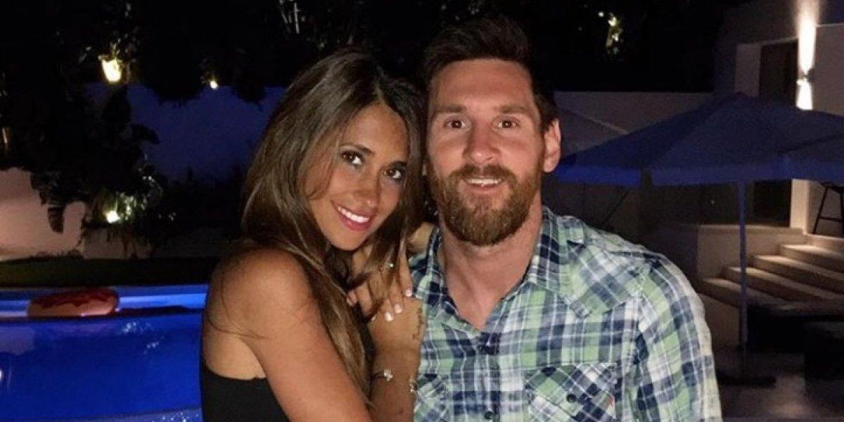 Messi comparte la primera imagen de su bebé recién nacido, Ciro