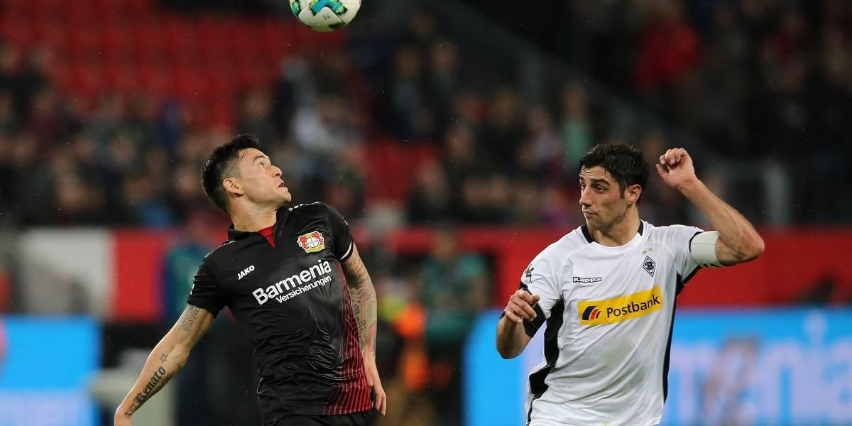 Charles Aránguiz fue titular en sufrido triunfo de Bayer Leverkusen en la Bundesliga