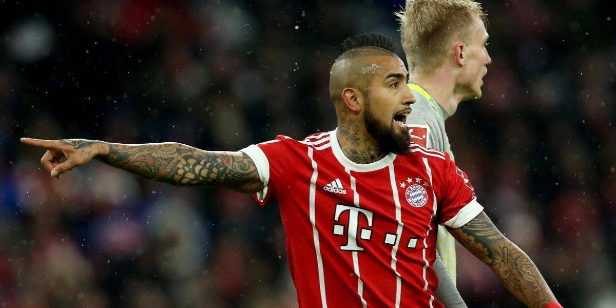 """Vidal y su reemplazo en Bayern: """"Con un 3-0 ¿para qué arriesgar? Tenemos muchos partidos importantes"""""""