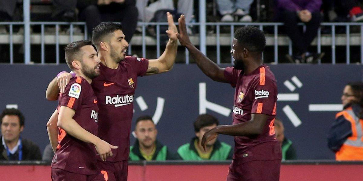 El Barcelona gana sin Messi y sigue firme en el liderato