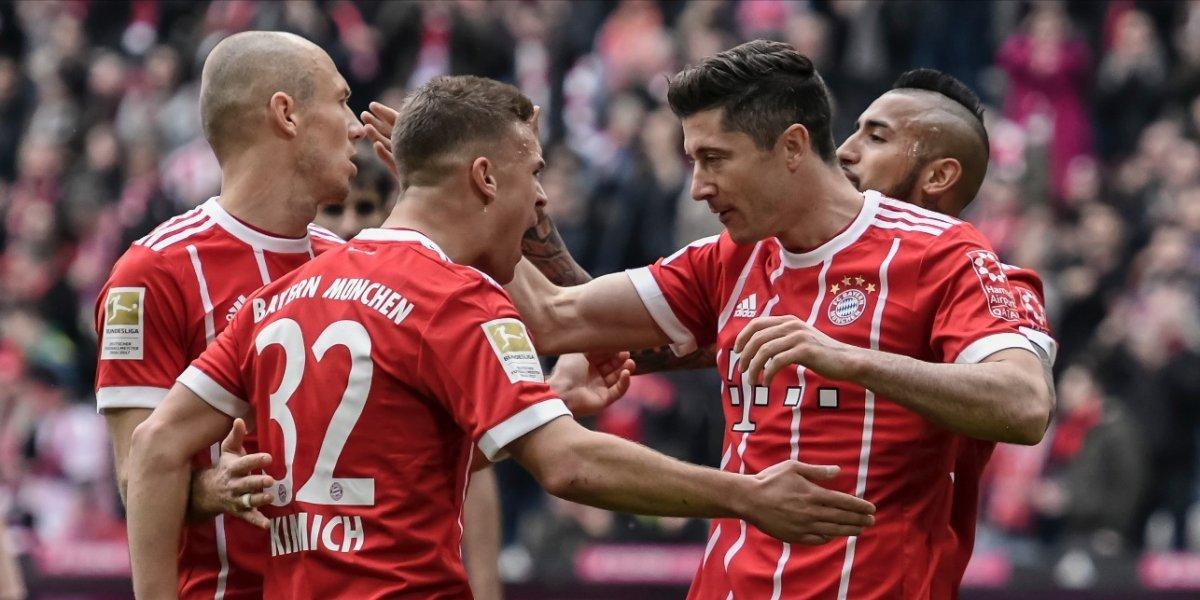 Robert Lewandowski se convierte en leyenda con el Bayern Munich