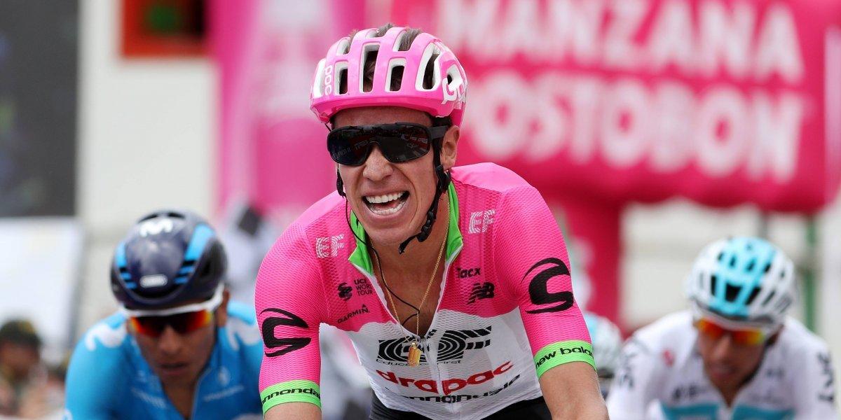 Rigoberto Urán destacó en la quinta etapa del Tirreno-Adriático