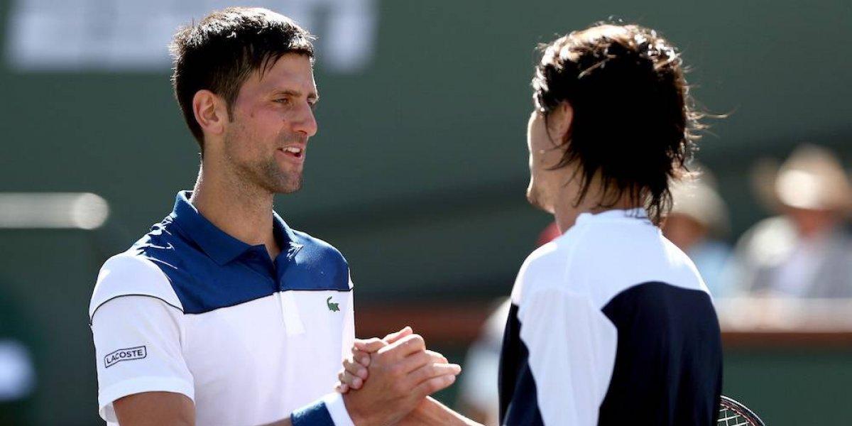 Djokovic tiene fugaz paso por Indian Wells