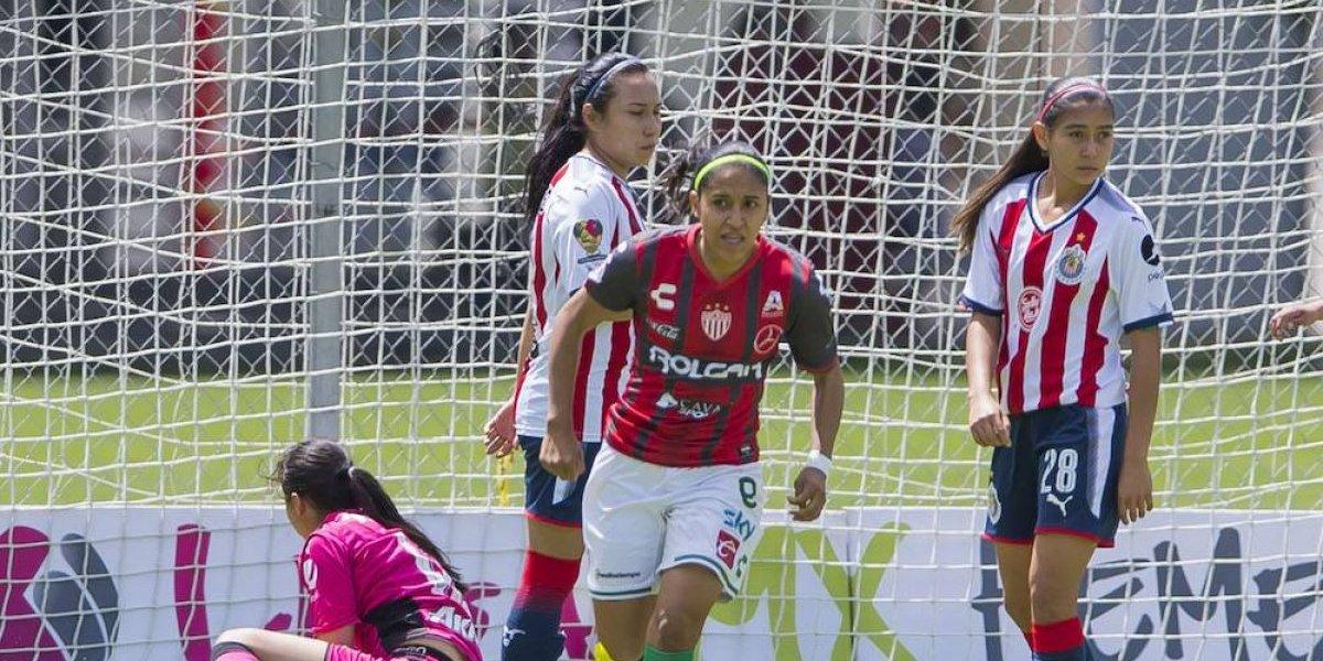 Chivas se complica la calificación en la Liga MX Femenil