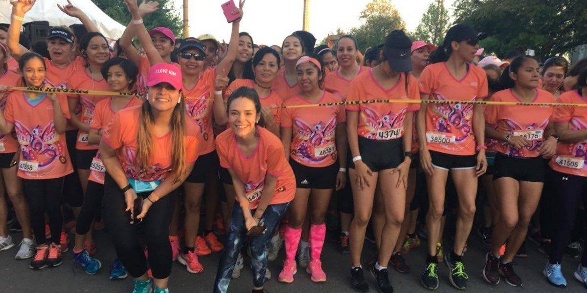 Monterrey se viste de rosa para recibir la Carrera Bonafont