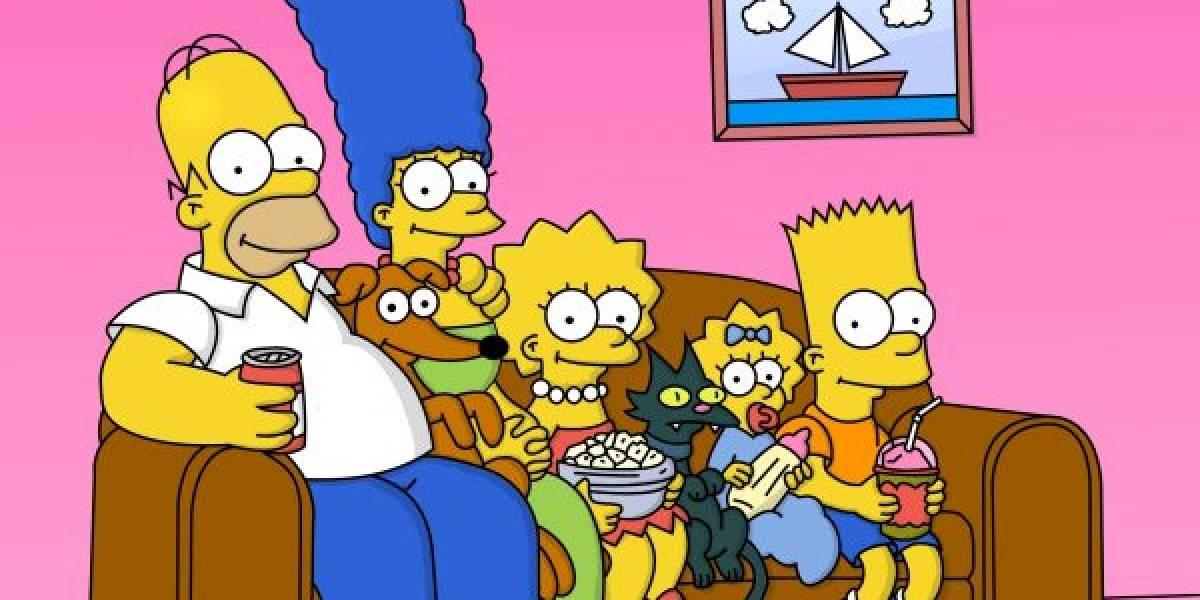 Esta sería la edad verdadera de los Simpson si envejecieran