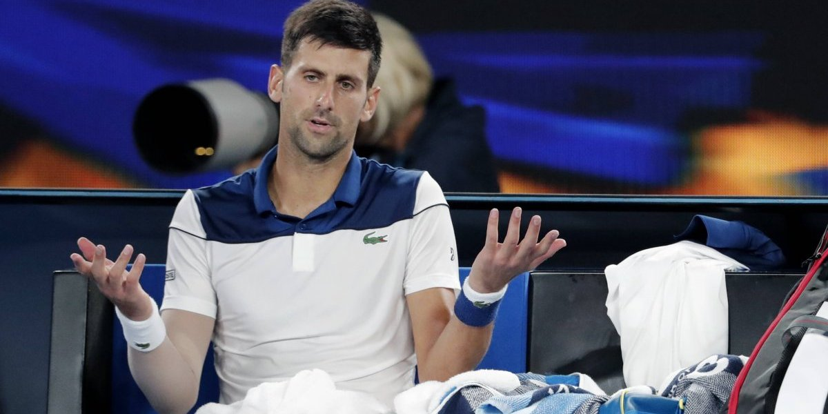 Djokovic duró poco y nada en Indian Wells tras ser eliminado por el japonés Taro Daniel