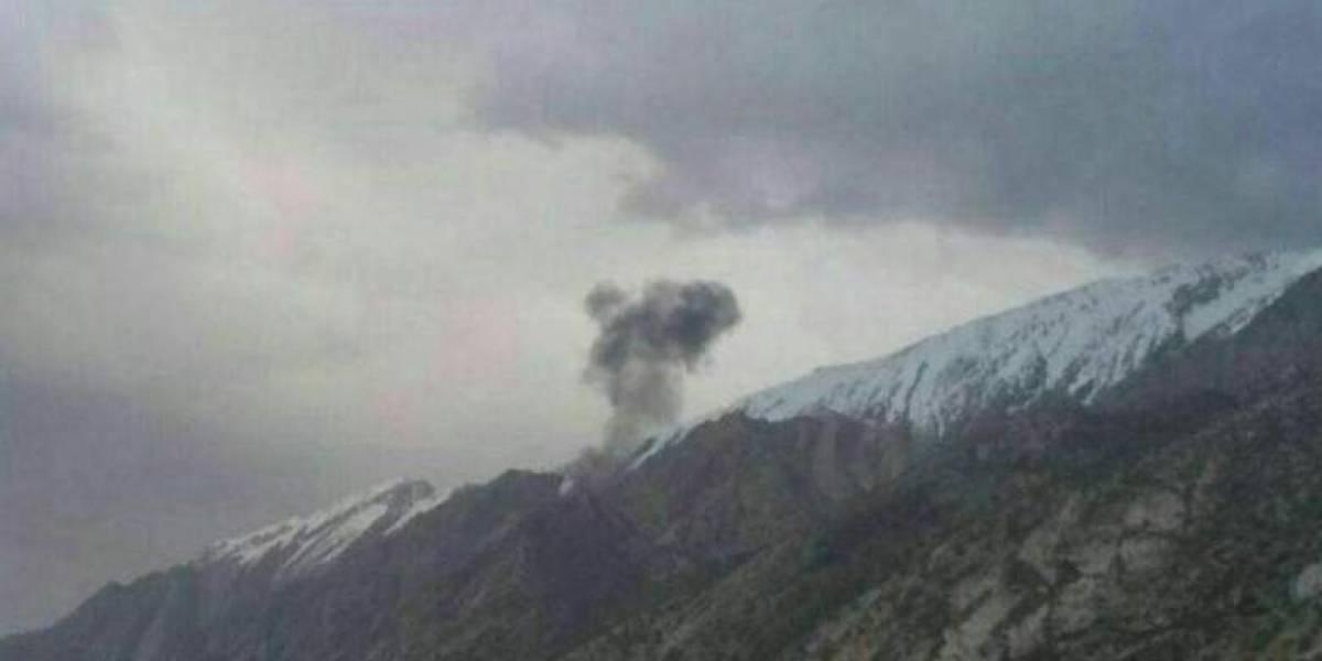 Avión turco con 11 personas a bordo se estrella en Irán