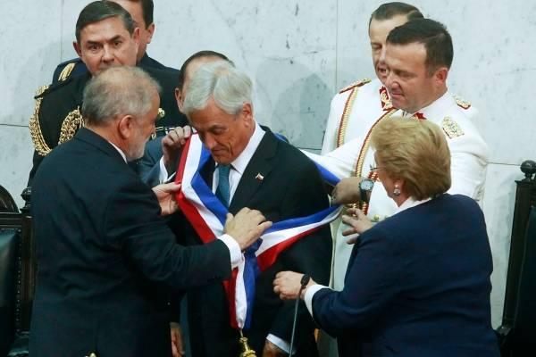 Piñera asume