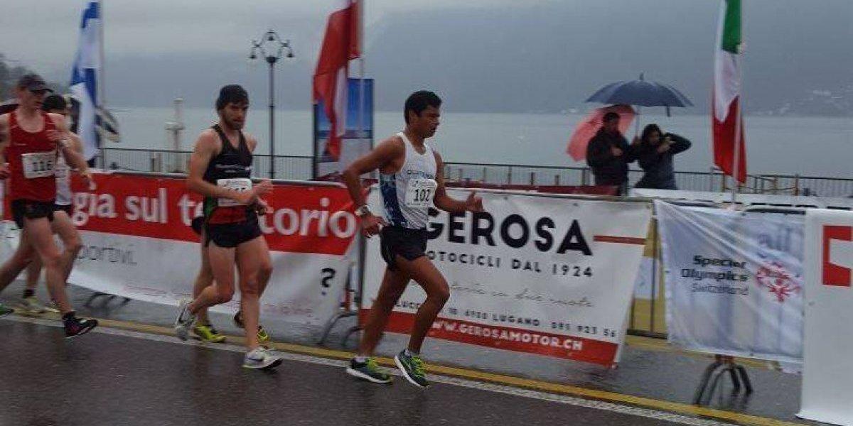 Erick Barrondo se ubica entre los diez mejores en competencia en Suiza