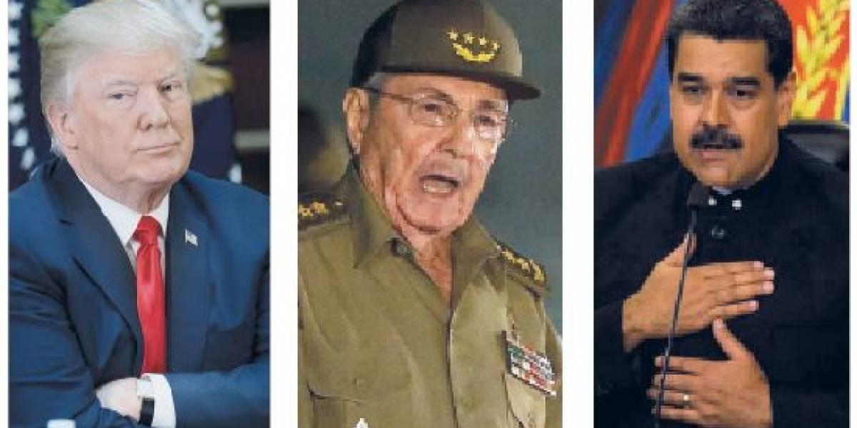 Trump, Castro y Maduro: ¿Juntos en la Cumbre?