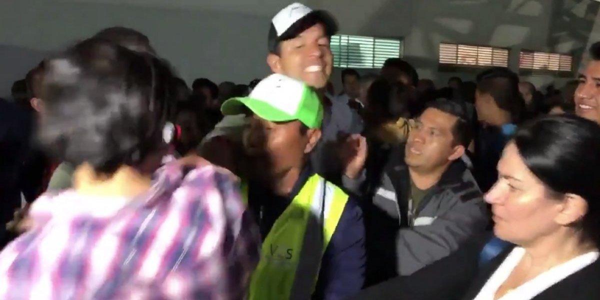 VIDEO: 'Maza' Rodríguez golpea a un aficionado tras la derrota ante Chivas