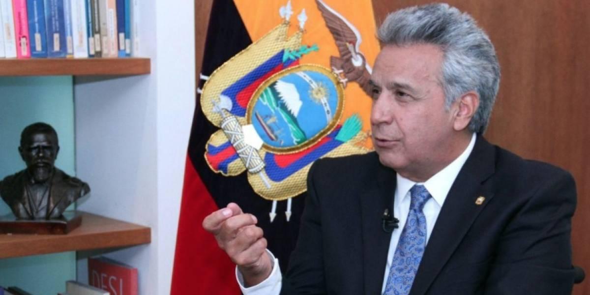 Lenín Moreno habló de Rafael Correa en Chile
