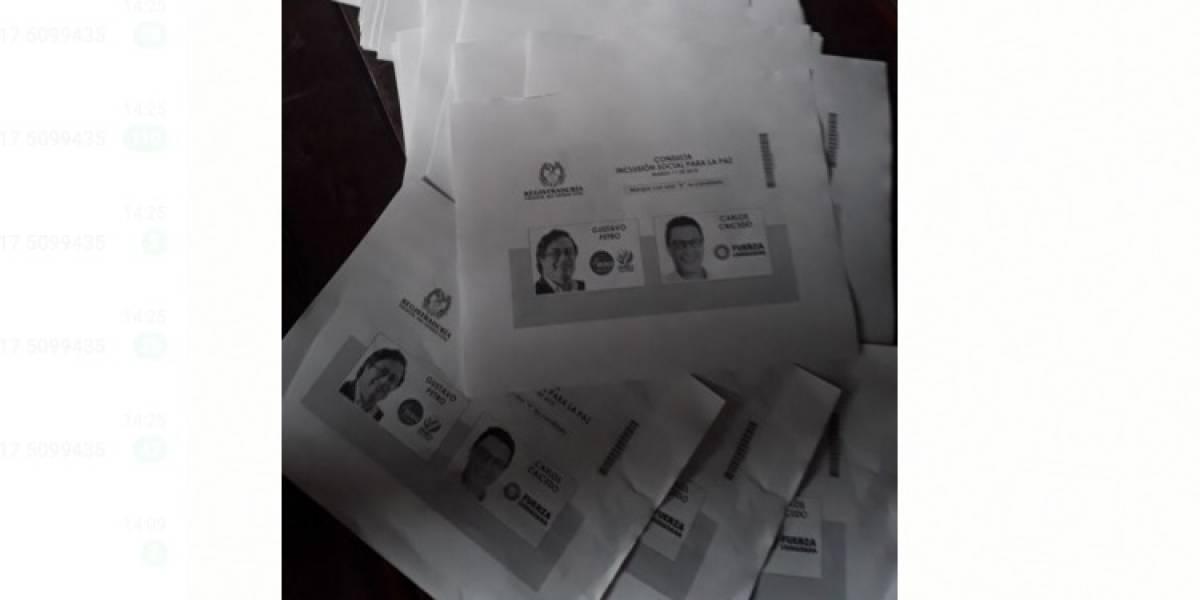 ¿Por qué no se imprimieron más tarjetones de las consultas?