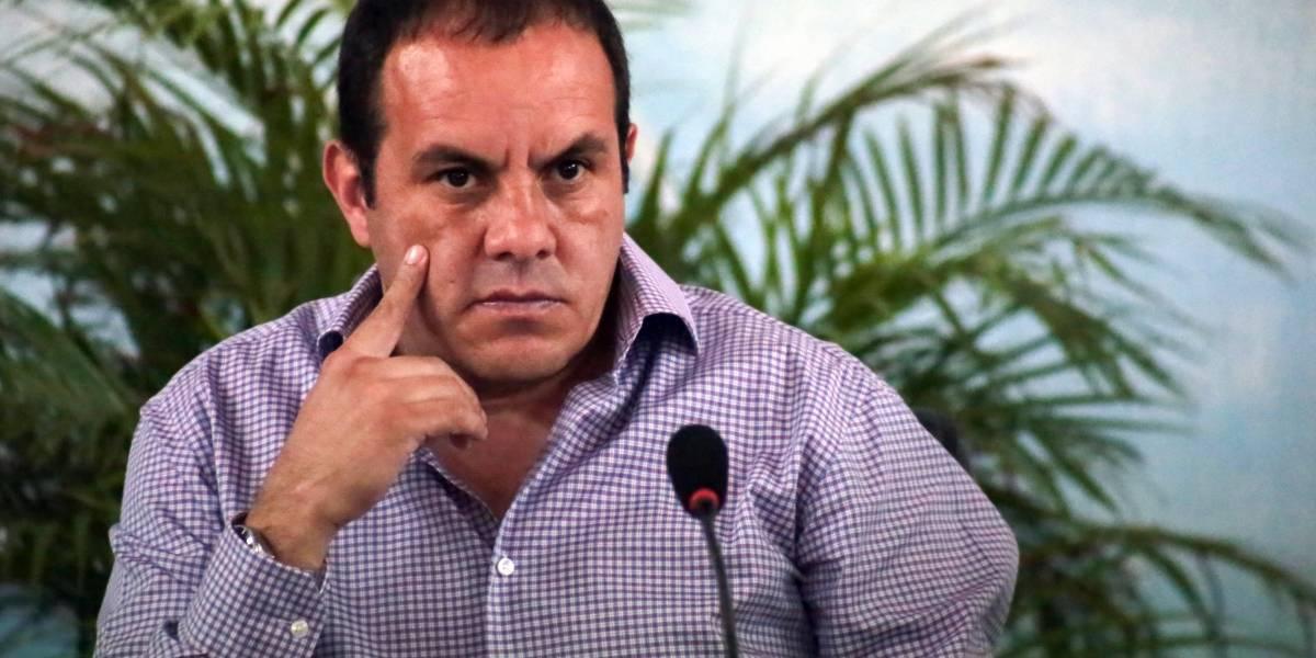 Cuauhtémoc Blanco presenta su registro oficial como candidato a gobernador de Morelos