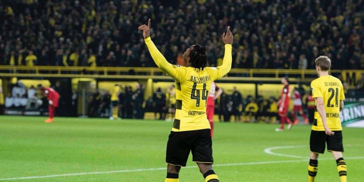 Con Salcedo como titular, Eintracht Frankfurt pierde frente al Dortmund
