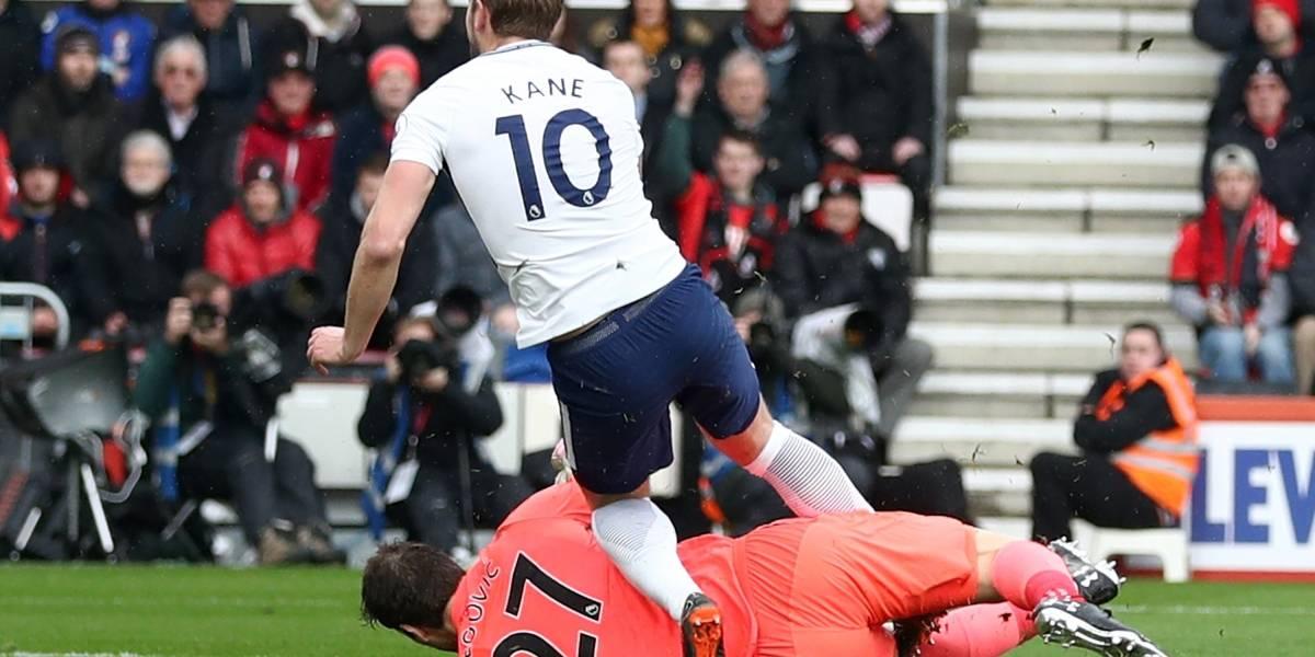 Tottenham goleó al Bournemouth y volvió al podio