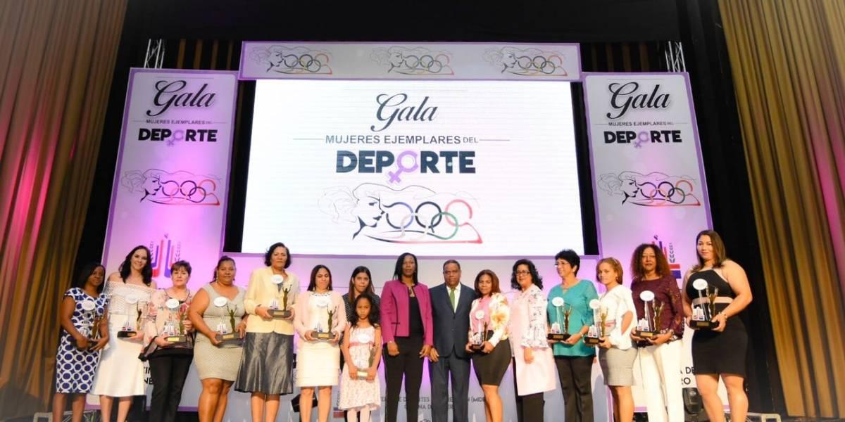 Miderec realiza Gala de Mujeres Deportistas