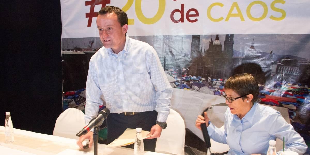 Arriola se registra como candidato del PRI al gobierno de la CDMX