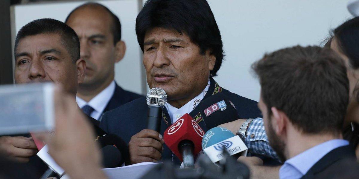 """Evo Morales llama al reencuentro entre Chile y Bolivia y pide no escuchar """"las voces de quienes quieren convertirnos en enemigos"""""""