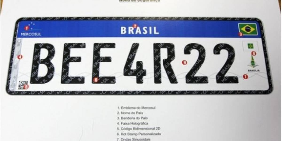 Contran suspende resolução sobre novas placas com padrão Mercosul