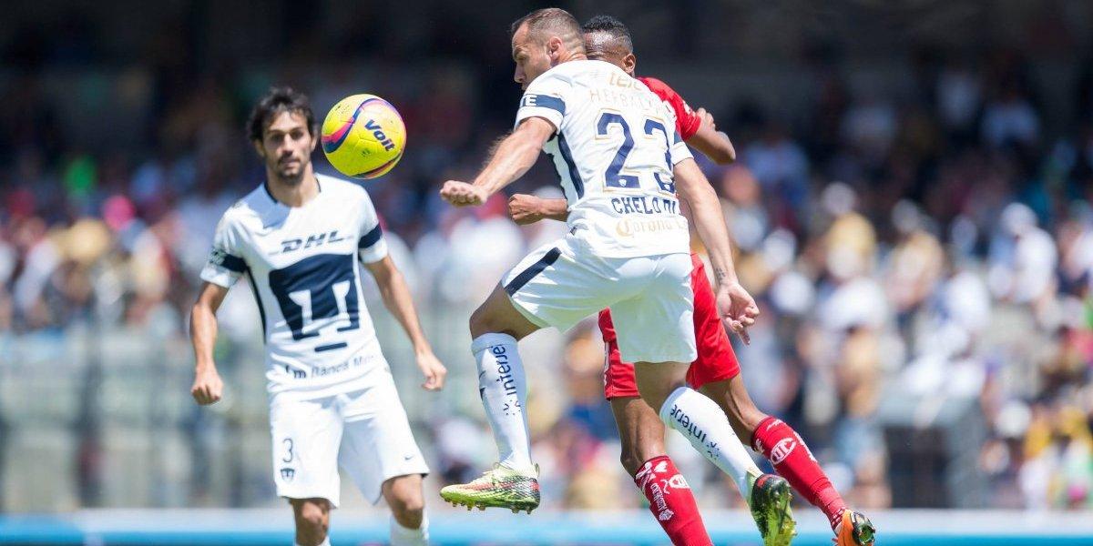 Autogol de Marcelo Díaz le entregó la victoria a Toluca de González frente a Pumas