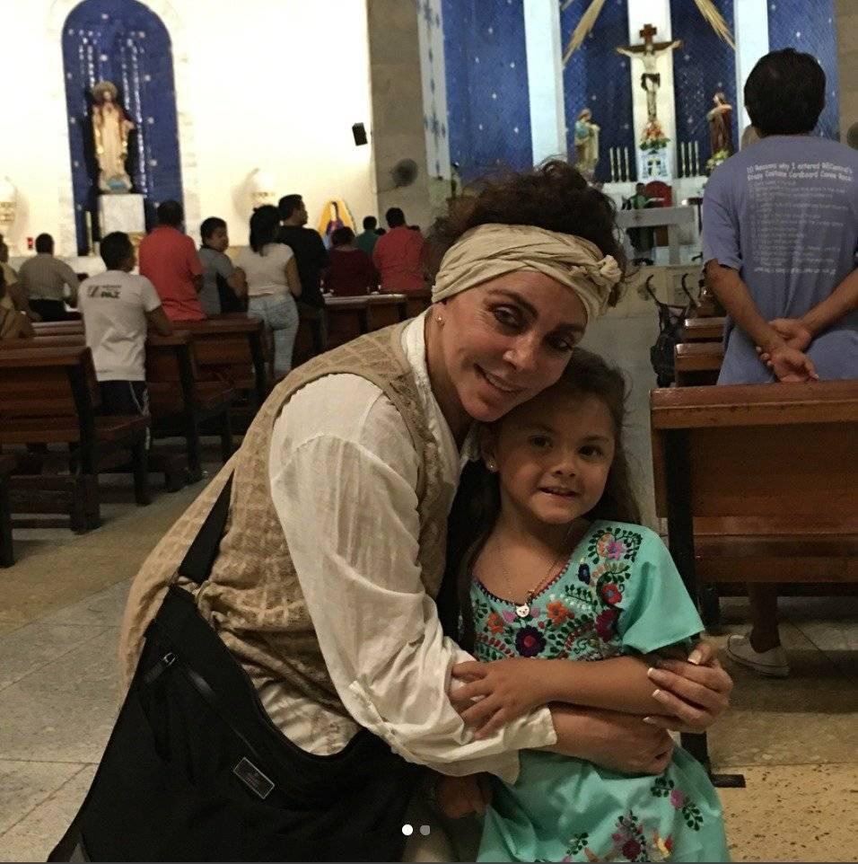 La hija de Cristian Castro hace el