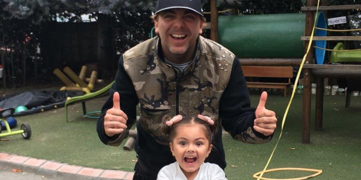 Hija de Cristian Castro causó polémica por video de