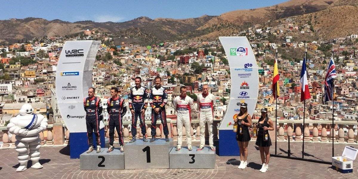 Sebastien Ogier se corona en el Rally México